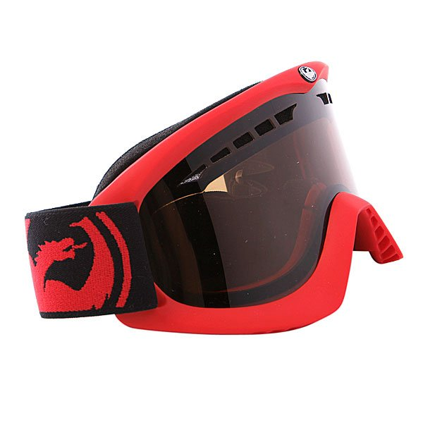 ����� Dragon DX Frame Pop Red Lens Jet + Amber