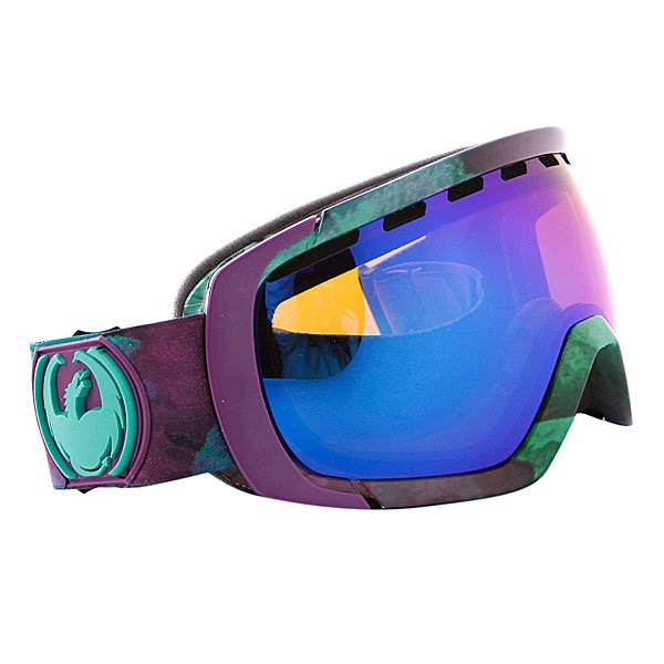 ����� Dragon Rogue Frame Water Colors Lens Blue Steel + n/a