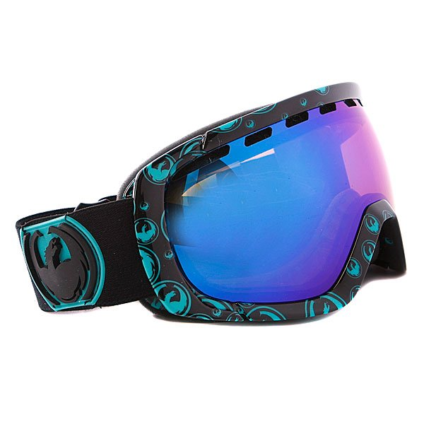 Маска Dragon Rogue Frame Icon Teal Lens Blue Steel + n/a