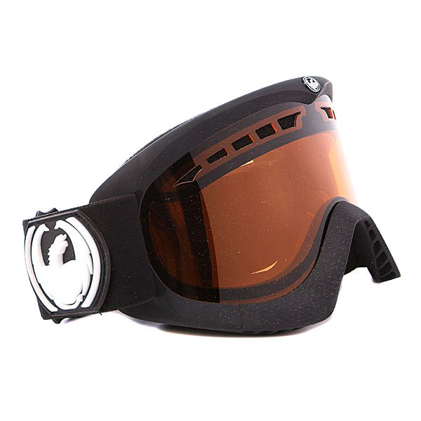 ����� Dragon DXS Frame Coal + Lens Amber