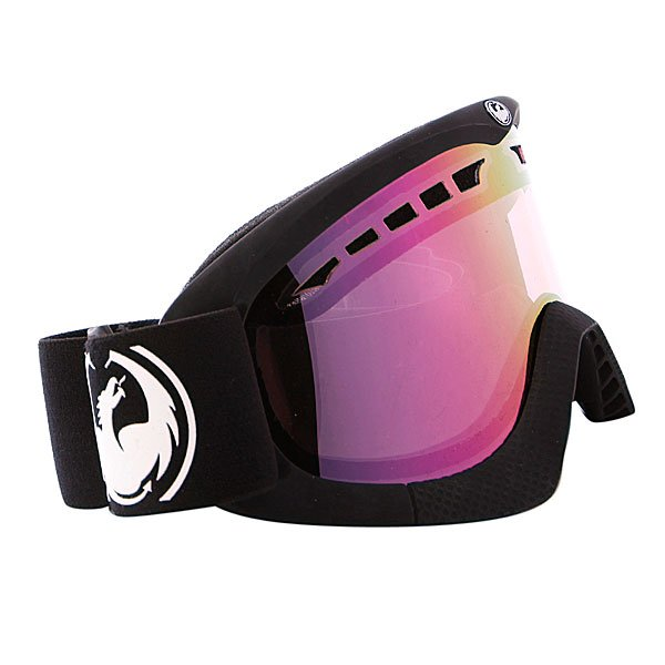 ����� Dragon DXS Frame Coal Lens Pink Ionized