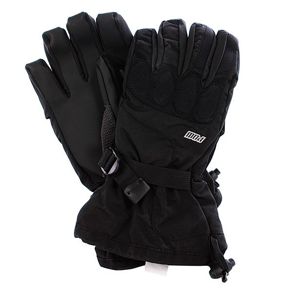Перчатки сноубордические Pow Warner Glove Black Proskater.ru 2190.000