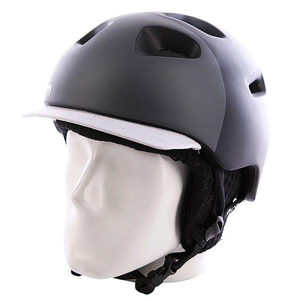 Шлем Bern G2 Matte Zipmold Black Hatstyle W/ Black KnitУникальная конструкция шлема позволяет использовать его для зимних и летних видов спорта, причем даже для водных. Именно BERN придумали форму шлема с козырьком, который просто стал писком моды в США и Европе. После этого все самые главные производители защиты тоже решили выпустить шлема такой формы. Характеристики:   Технология Zip Mold ™ – запатентованный наполнитель который образует единую спаянную между собой внутреннюю и внешнюю защитную часть шлема, позволяющий добиться минимального веса шлема.  Вязаный съемный внутренний лайнер с мягкой флисовой отделкой.  Съемные защитные наушники.  Раздвижные вентиляционные отверстия.  Технология каркаса Sink Fit ™ – шлем тоньше, чем обычно, очень хорошо сидит и практически не ощущается на голове.  The Clip – запатентованная система крепления внутренника к шлему. Клипсы не ломаются на морозе (стандарт для всех моделей).  Улучшенный регулируемый ремешок Twin Clip ™ - крепление для ремня маски с возможностью установки в двух положениях (стандарт для всех моделей).  Система вентиляции Channeled Air-Flow ™ - воздушные каналы расположены таким образом, чтобы воздух попадал в шлем спереди и выходил из него сзади, полностью продувая пространство внутри.Совместимость с любыми типами очков Eyewear Channel ™.  Совместимость с аудио-комплектом (мягкие аудио-вставки для наушников).<br><br>Цвет: белый,черный,серый<br>Тип: Шлем для сноуборда<br>Возраст: Взрослый<br>Пол: Мужской