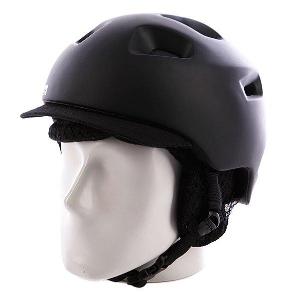 Шлем Bern G2 Matte Zipmold Black W/ Black KnitУникальная конструкция шлема позволяет использовать его для зимних и летних видов спорта, причем даже для водных. Именно BERN придумали форму шлема с козырьком, который просто стал писком моды в США и Европе. После этого все самые главные производители защиты тоже решили выпустить шлема такой формы. Характеристики:   Технология Zip Mold &amp;trade; &amp;ndash; запатентованный наполнитель который образует единую спаянную между собой внутреннюю и внешнюю защитную часть шлема, позволяющий добиться минимального веса шлема.  Вязаный съемный внутренний лайнер с мягкой флисовой отделкой.  Съемные защитные наушники.  Раздвижные вентиляционные отверстия.  Технология каркаса Sink Fit &amp;trade; &amp;ndash; шлем тоньше, чем обычно, очень хорошо сидит и практически не ощущается на голове.  The Clip &amp;ndash; запатентованная система крепления внутренника к шлему. Клипсы не ломаются на морозе (стандарт для всех моделей).  Улучшенный регулируемый ремешок Twin Clip &amp;trade; - крепление для ремня маски с возможностью установки в двух положениях (стандарт для всех моделей).  Система вентиляции Channeled Air-Flow &amp;trade; - воздушные каналы расположены таким образом, чтобы воздух попадал в шлем спереди и выходил из него сзади, полностью продувая пространство внутри.Совместимость с любыми типами очков Eyewear Channel &amp;trade;.  Совместимость с аудио-комплектом (мягкие аудио-вставки для наушников).<br><br>Цвет: черный<br>Тип: Шлем для сноуборда<br>Возраст: Взрослый<br>Пол: Мужской