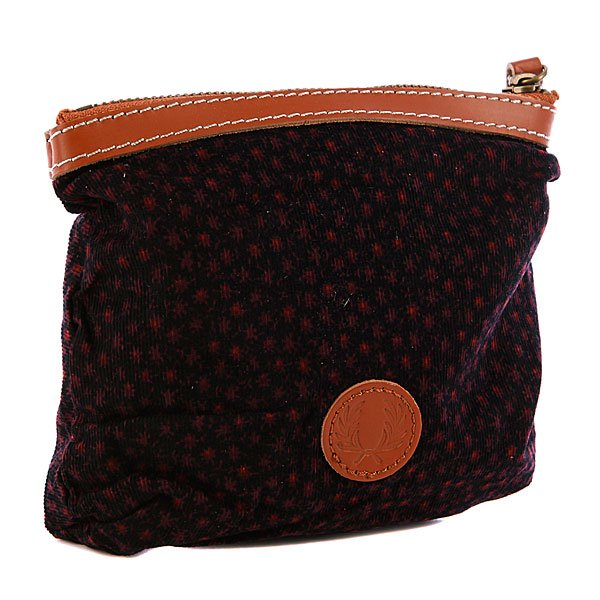 Кошелек женский Fred Perry Floral Pouch Purse Burgundy