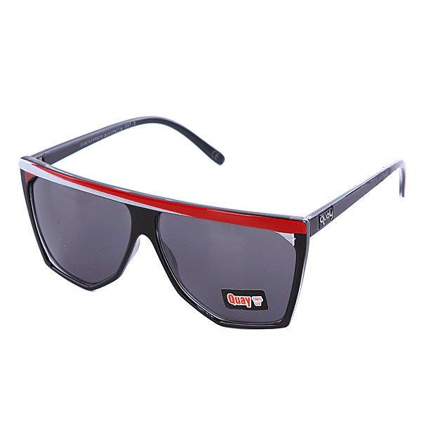 Очки женские Quay Eyeware Pty Qsyhired Quay Select Yhi Black/Red/White