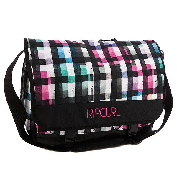 Сумка женская Rip Curl Check Satchel Solid Black