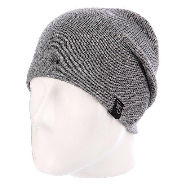 Шапка Footwork Classic Athletic Grey100% АкрилКлассическая формаКлассическая вязкаМожно носить с подворотом и безПриятный на ощупь материалВышитый лэйбл на подвороте<br><br>Цвет: серый<br>Тип: Шапка<br>Возраст: Взрослый
