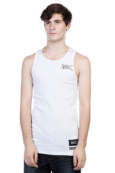 Майка K1X Core Wifebeater T-White<br><br>Цвет: белый<br>Тип: Майка<br>Возраст: Взрослый<br>Пол: Мужской