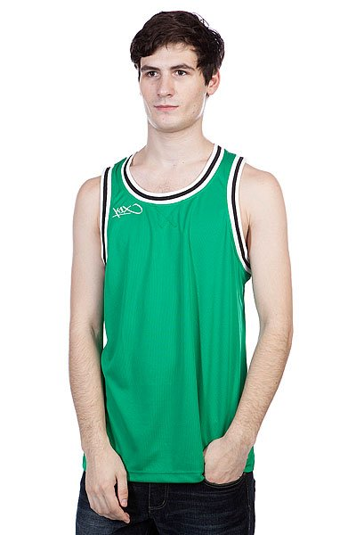 ����� K1X Hardwood Double X Jersey Green/White