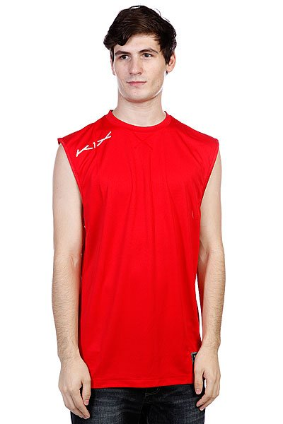 Майка K1X Hardwood Intimidator Jersey True Red<br><br>Цвет: красный<br>Тип: Майка<br>Возраст: Взрослый<br>Пол: Мужской