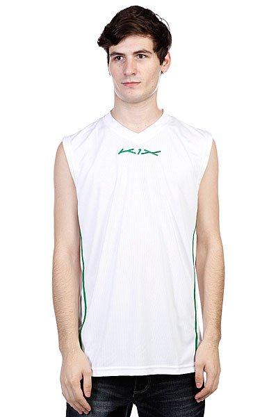 Майка K1X Hardwood League Uniform Jersey White/Boston Green<br><br>Цвет: белый,зеленый<br>Тип: Майка<br>Возраст: Взрослый<br>Пол: Мужской