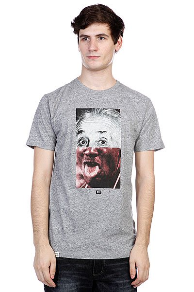 Футболка K1X Genius Tee Dark Grey Heather/Mulitcolor
