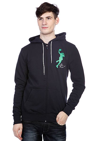 Толстовка K1X Baller Zipper Hoody Navy/Boston Green