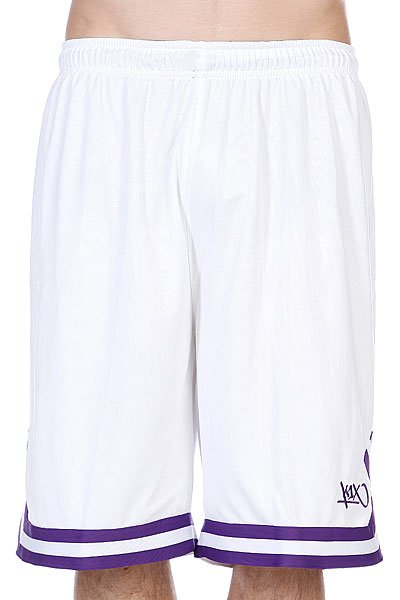 Шорты K1X Hardwood Double X Shorts White/Purple