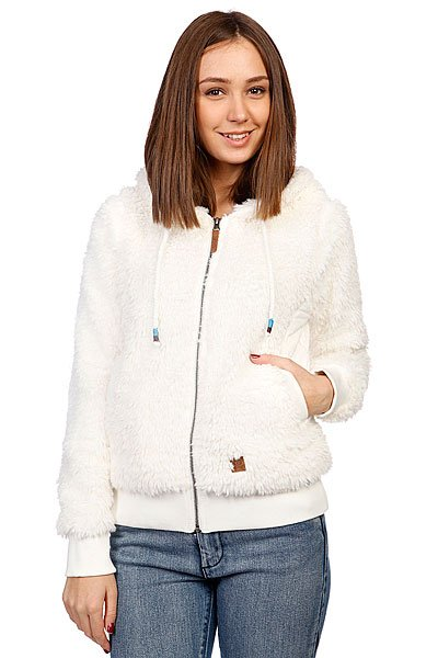 Толстовка утепленная женская Rip Curl Cocooning Polar Fleece Pristine