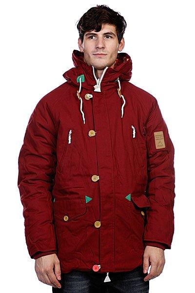 Куртка парка True Spin Alaska Jacket Burgundy/NativeTrueSpin выпустил новую порцию зимних курток. Эта коллекция отличается лаконичностью, которая немного не привычна для этого бренда. Они сделаны из очень плотного канваса, который защитит от холодного ветра и другой зимней непогоды. Дизайн куртки позволяет носить ее наизнанку - на внутренней стороне нашли себе место уже знакомые принты! Куртка доступна в трех ярких цветах!<br><br>Цвет: бордовый<br>Тип: Куртка парка<br>Возраст: Взрослый<br>Пол: Мужской