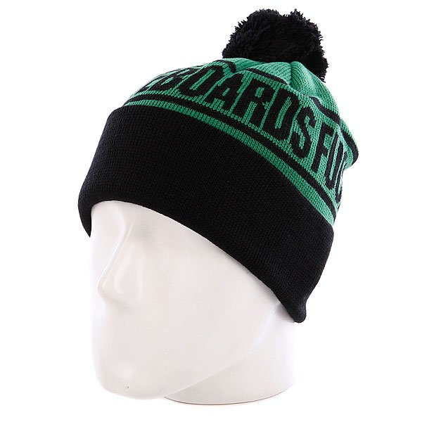 Шапка Creature Fu Beanie Green/Black