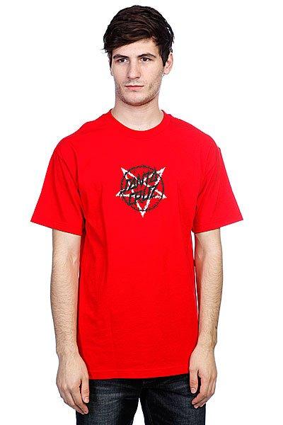 Футболка Santa Cruz Merciful Dot Red<br><br>Цвет: красный<br>Тип: Футболка<br>Возраст: Взрослый<br>Пол: Мужской