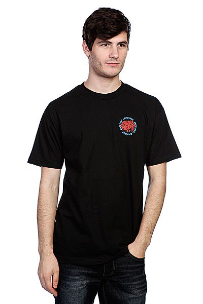 Футболка Santa Cruz Skate Brain Black<br><br>Цвет: черный<br>Тип: Футболка<br>Возраст: Взрослый<br>Пол: Мужской