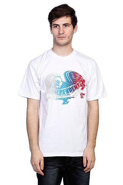 Футболка Independent Screaming White<br><br>Цвет: белый<br>Тип: Футболка<br>Возраст: Взрослый<br>Пол: Мужской