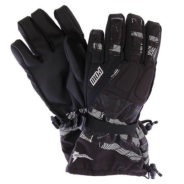 Перчатки сноубордические Pow Tormenta Glove Gauntlet Print