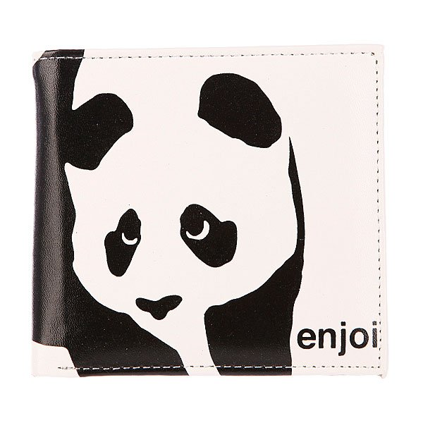 Кошелек Enjoi Panda White/Black