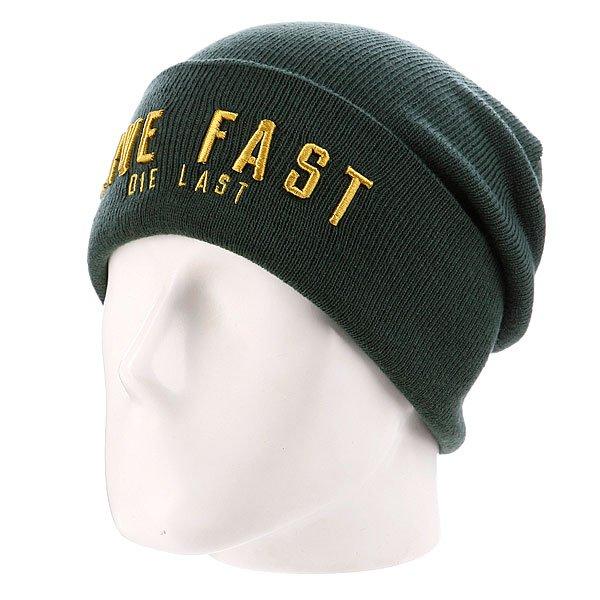 Шапка True Spin Live Fast Green<br><br>Цвет: зеленый<br>Тип: Шапка<br>Возраст: Взрослый