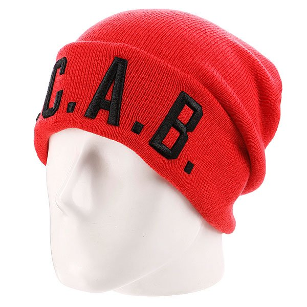 Шапка True Spin Acab Red<br><br>Цвет: красный<br>Тип: Шапка<br>Возраст: Взрослый