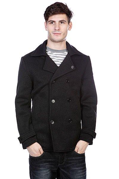 Пальто Enjoi Peacock Pea Coat Black HeatherСтильное и качественное пальто от компании Enjoi подчеркнет ваш стиль.Характеристики:Без внутренней подкладки. Застежка – пуговицы. Классический двубортный воротник. Два прорезных кармана для рук.<br><br>Цвет: черный<br>Тип: Пальто<br>Возраст: Взрослый<br>Пол: Мужской