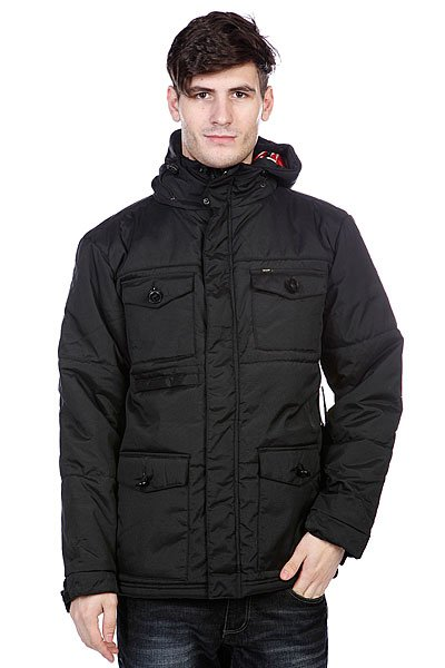 Куртка зимняя Enjoi Nice And Cozy Jacket Black