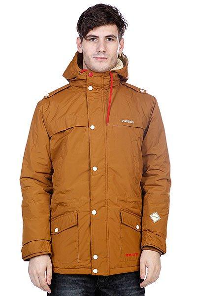Куртка парка True Spin Fishtail Brown
