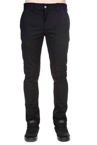 Штаны Dickies Slim Skinny Work Pant Black<br><br>Цвет: черный<br>Тип: Штаны прямые<br>Возраст: Взрослый<br>Пол: Мужской