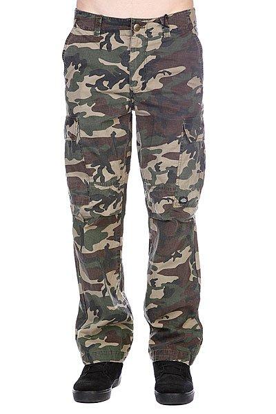 Штаны Dickies New York Camouflage<br><br>Цвет: зеленый,коричневый,черный<br>Тип: Штаны прямые<br>Возраст: Взрослый<br>Пол: Мужской