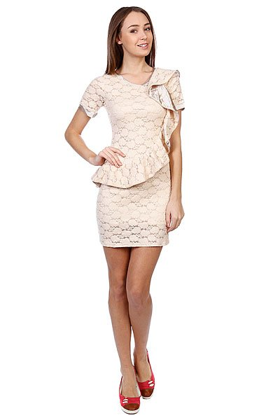 Платье женское Mina Uk Morning  Dress Cream