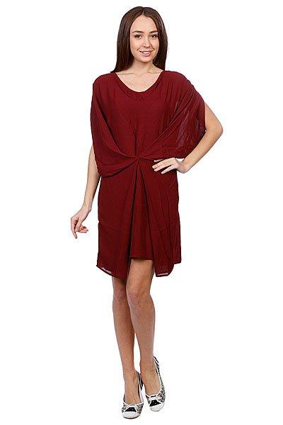 Платье женское Numph Babette Tawny Port Proskater.ru 4900.000