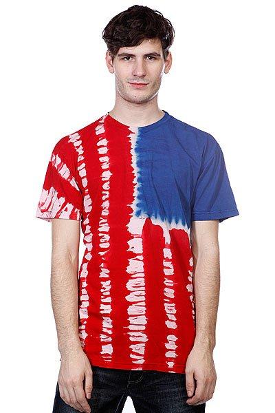 Футболка Altamont Flagman S/S Tee Red<br><br>Цвет: красный,синий<br>Тип: Футболка<br>Возраст: Взрослый<br>Пол: Мужской