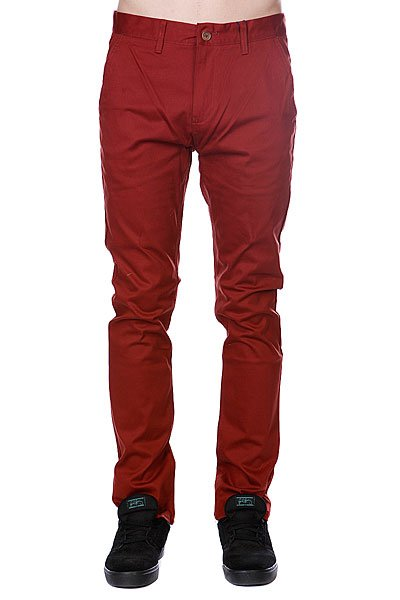 Штаны прямые Etnies Cash Out Chino Pant Rust aqua work aw 36tdn белый