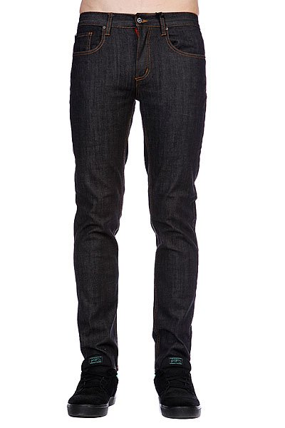 Джинсы прямые Circa Slim Denim Mid Wash Black