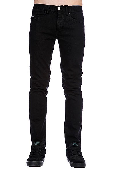 Джинсы узкие Circa Select Slim Denim Black Overdye футболка circa fortress black