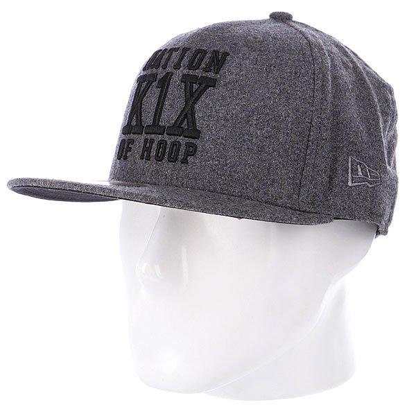 Бейсболка New Era K1X Noh Wool NewEra Grey<br><br>Цвет: серый<br>Тип: Бейсболка с прямым козырьком<br>Возраст: Взрослый<br>Пол: Мужской