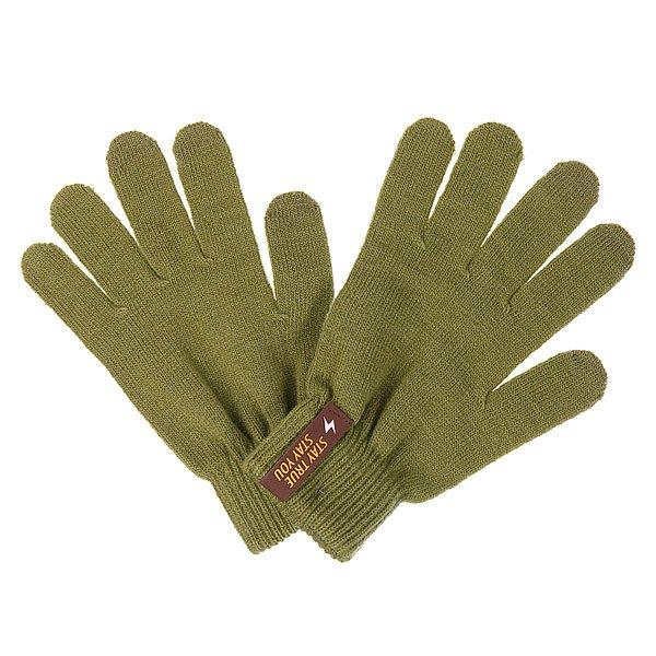 Перчатки True Spin Touch Glove OliveПрактичные и весьма универсальные перчатки TrueSpin, выполненные из мягкой пряжи на основе акрила. Традиционная форма с пятью пальцами дополнена эластичными манжетами, обеспечивающими оптимальную посадку и специальным напылением, позволяющим пользоваться гаджетами с сенсорным экраном не снимая их с рук. Перчатки представлены в однотонной расцветке, которая станет приятным дополнением к любому образу.Характеристики:Акриловая пряжа. Традиционная форма.Эластичные манжеты. Пальцы со специальным напылением для сенсорных экранов. Однотонная расцветка.<br><br>Цвет: зеленый<br>Тип: Перчатки<br>Возраст: Взрослый<br>Пол: Мужской
