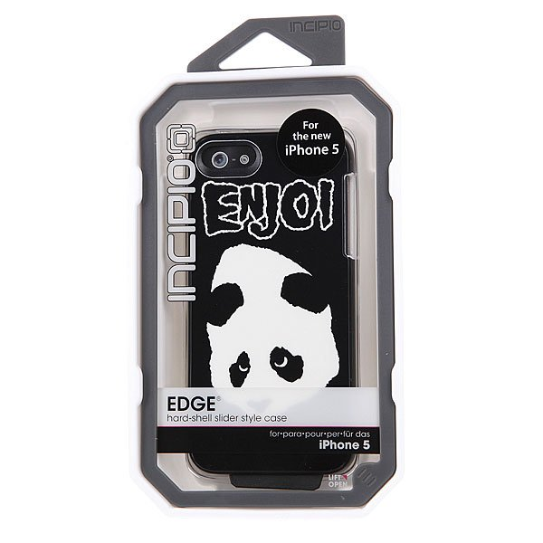 Чехол для Iphone Enjoi Doesnt Fit Edge Iphone 5 Case Black/White