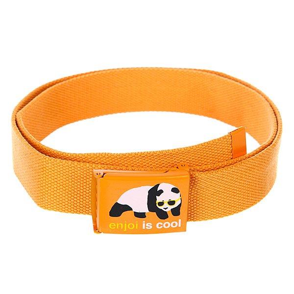 Ремень Enjoi Cool Web Belt OrangeДлина: 118смШирина: 3см<br><br>Цвет: оранжевый<br>Тип: Ремень<br>Возраст: Взрослый<br>Пол: Мужской
