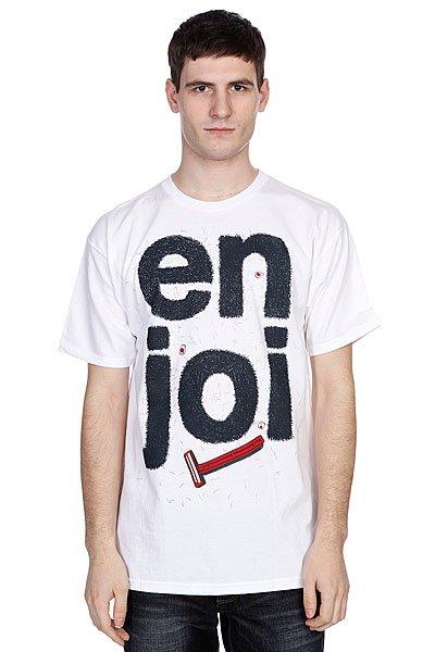 Футболка Enjoi Manscape White<br><br>Цвет: белый<br>Тип: Футболка<br>Возраст: Взрослый<br>Пол: Мужской