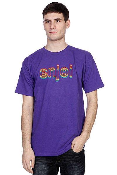 Футболка Enjoi Outlines Purple<br><br>Цвет: фиолетовый<br>Тип: Футболка<br>Возраст: Взрослый<br>Пол: Мужской