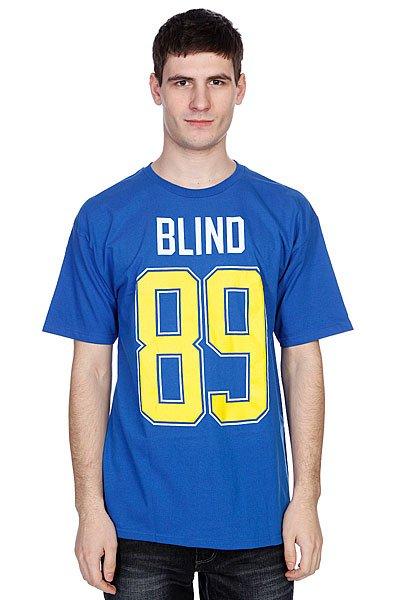Футболка Blind Number 89 Royal<br><br>Цвет: синий<br>Тип: Футболка<br>Возраст: Взрослый<br>Пол: Мужской