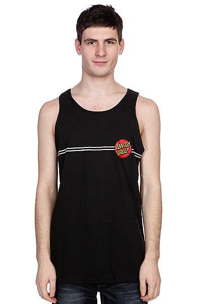 Майка Santa Cruz Classic Dot Tank Black<br><br>Цвет: черный<br>Тип: Майка<br>Возраст: Взрослый<br>Пол: Мужской