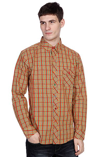 Рубашка в клетку Enjoi Plaid Out Spectrum рубашка в клетку dc kalis plaid ls wvtp kalis plaid chili pepper