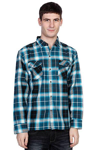Рубашка утепленная Enjoi Not Bad Plaid|turquoise<br><br>Цвет: белый,синий,черный<br>Тип: Рубашка утепленная<br>Возраст: Взрослый<br>Пол: Мужской